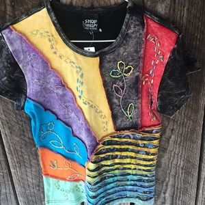Shop therapy boho top size medium to large